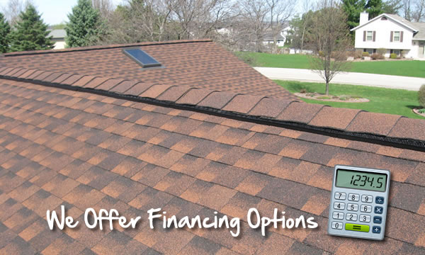 Roofing Contractor that offers Financing in Waukesha and Wisconsin.