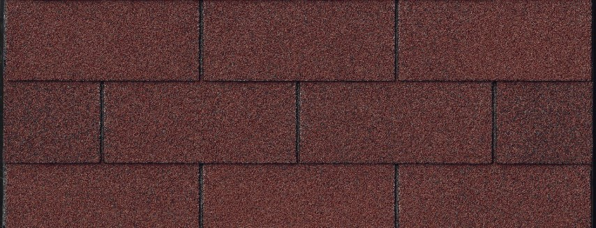 XT25 Strip Shingle in Maple Red Blend