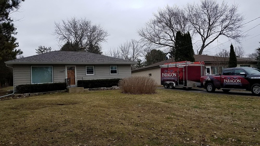 Residential Roof Replacement Big Bend Wisconsin