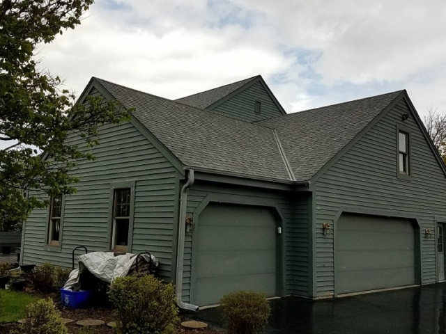 Garage and Shop Roof Replacement Hartland WI