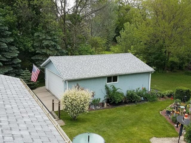 Garage Roof Replacement Hartland Wisconsin.