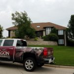 Landmark Pro Shingles Installed By Paragon Exteriors in Weathered Wood Pattern.