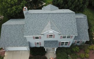 Roof Replacement in Waukesha WI Using Certainteed Landmark Pro in Pewter Color